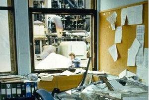 انفجار عظیم هیدروژن- هوا در یک واحد فرآیندی